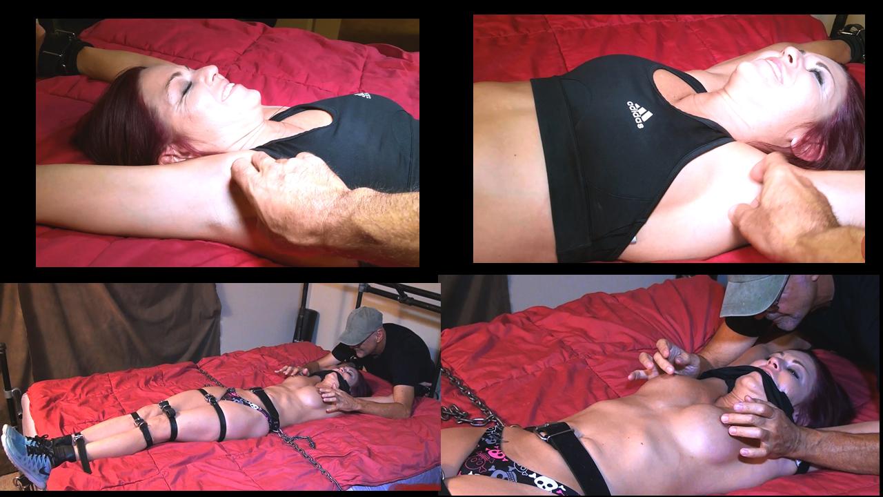 Tickling handjob milf tickle asshole balls and dick till orgasm