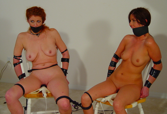 Bondage porn lesbian gagged, nude pics ebony ass