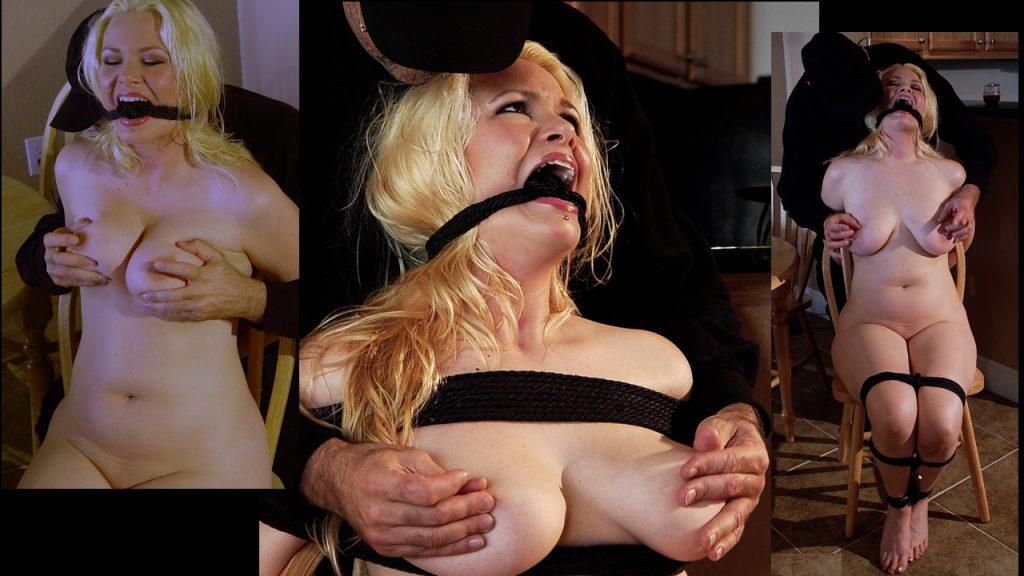 Blonde Big Tits Bondage