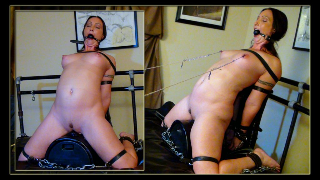 Categories Fiterotic.comTags#bondage orgasms #nipple torment #orgasm  torment #sybian #tied nipples #Wenona