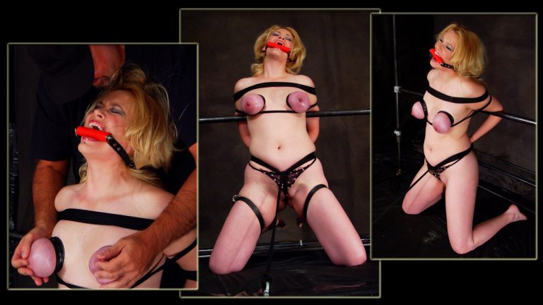 Older woman in bondage picture